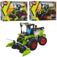 Конструктор 6806-07 трактор, 2в1, 2 види (346 дет., 335 дет.), кор., 31-23-6,5см.