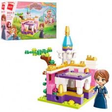 "Конструктор Qman 2613-3 ""Princess Leah"": Сад весни, 118 дет."