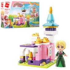"Конструктор Qman 2613-4 ""Princess Leah"": Астрологічна вежа, 103 дет."
