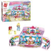 """Конструктор Qman 32013 """"Princess Leah"""": Таємна садова коробка, 301 дет."""