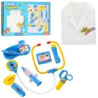 Лікар 9911BC халат, інструменти, 2 види, муз., світло, бат., кор., 54.5-32,5-4 см.
