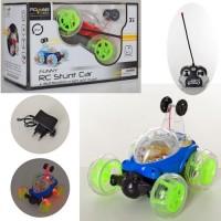 Машина 008-370 радіокер., трюкова, поворот360, 2 кольори, світло, бат., кор., 22,5-15-14 см.
