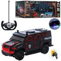 Машина 666-710A радіокер.,акум.,поліція, фігурки 2шт.,відчин. двері,гум. кол.,2 види,кор.,39-16-19см