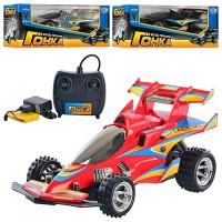 Машина M 0360 U/R радіокер., акум., гонка, 3 кольори, кор., 37-16-17 см.