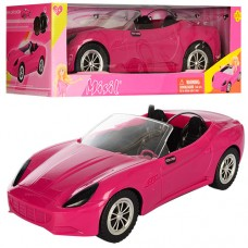 Машинка DEFA 8249 для ляльки, ремінь безпеки 2 шт., кор., 41,5-18-14,5 см.
