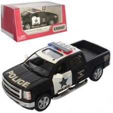 Машинка KT 5381 WP мет., інерц., поліція, відчин. двері, гум. колеса, кор., 16-7,5-8 см.