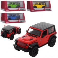 Машинка KT5412WB мет., інерц., 1:34, відчин.двері, гум.колеса, 4 кольори, кор., 16-7-8,5 см.