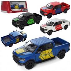 Машинка KT5413WF мет., інерц., відчин.двері, гум.колеса, 4 кольори, кор., 16-7-8см.