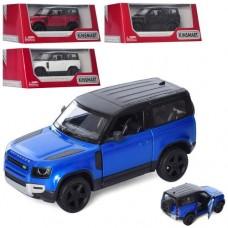 Машинка KT5428W мет., інерц., двері відчин., гум.колеса, 4 кольори, кор., 16-7-8см.