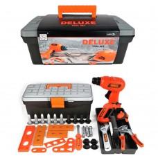 Набір інструментів 3255-H7 дриль-механічна, викрутка, ключі, валіза, карт. обгортка, 32-13-18 см.