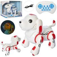 Тварина 837 собака,дист.кер.(ІЧ),акум.,їздить,танцює,прогр.,USB,2кольори,муз.,світ.,кор.5-29,5-19см.