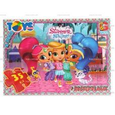 "OS615 Пазли ТМ ""G-Toys"" із серії ""Шиммер і Шайн"""