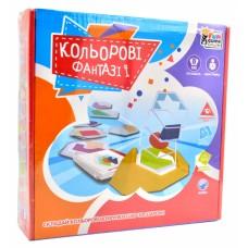 """UKВ-В 0041 Розвиваюча гра """"Кольорові фантазії"""""""