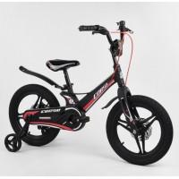 MG-16022 Велосипед 16 Чорний-Червоний