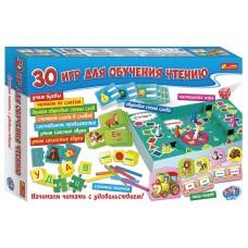428805 Настольная игра.30 игр для обучения чтению