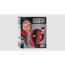 Боксерський набір MS 0332 груша, стійка (від 90 до 130 см), перчатки 2 шт., кор., 51-45-13 см.