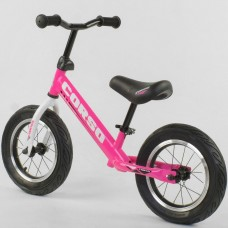 """Велобіг """"CORSO"""" 63908 (1) стальная рама, колесо 12"""" надувные колёса  [Коробка]"""