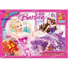 "BA001 Пазли ТМ ""G-Toys"" із серії ""Barbie"""