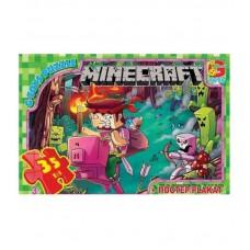 "MC776 Пазли ТМ ""G-Toys"" із серії ""Minecraft"" (Майнкрафт)"