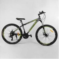 """Велосипед Спортивный CORSO «Zoomer» 26"""" дюймов 24594 (1) рама алюминиевая"""