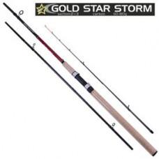 """SF23893 Спіннінг карповий штекерний фідер """"Gold star storm"""" 3.3м 60-180г 2+3к"""