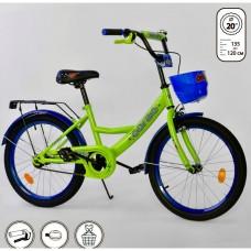 G-20424 Велосипед Зелено-С