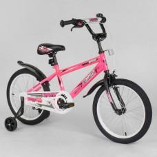 EX-18 2395 Велосипед Рожевий